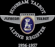 Sunbeam Talbot Alpine Register